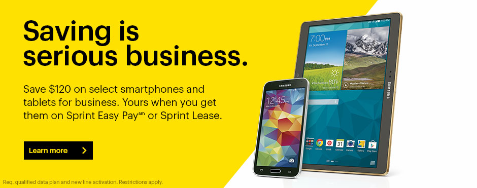 sprint cellular business plan