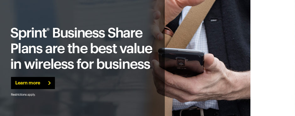 Sprint business Share Plans are the best deal in data for business.
