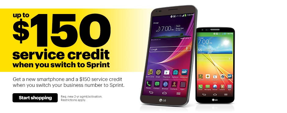 Sprint business plans for cell phones